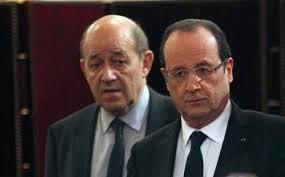 Hollande Le Drian